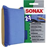 SONAX Skivsvamp (1 styck) absorberar fukt med en torka och lämnar en tunn film med anti-imma effekt | Artikelnummer 04171000