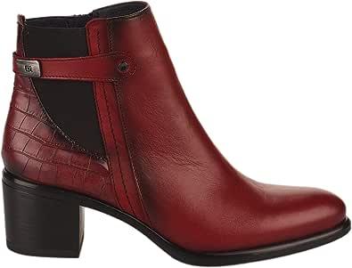 Dorking - Stivali da donna, colore: Rosso
