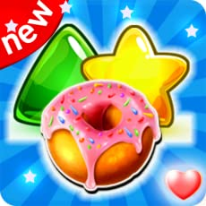 Candy Gummy Fever - Yummy Jam Crush Match 3 Games Free