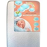 Mjuk och bekväm babymadrass LISO 10 PLUS (70x140)