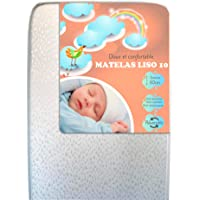 Matelas bébé Doux et Confortable LISO 10 Plus (60x120)
