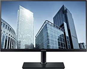 Samsung S27H850QFU 68,4 cm (26,9 Zoll) Monitor (HDMI, VGA, DVI, 4ms Reaktionszeit) schwarz