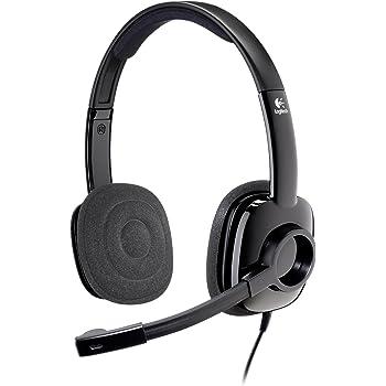 Logitech Stereo Headset H250 - Graphite â?? AMR (981-000353)