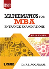 Mathematics for MBA Entrance Examinations