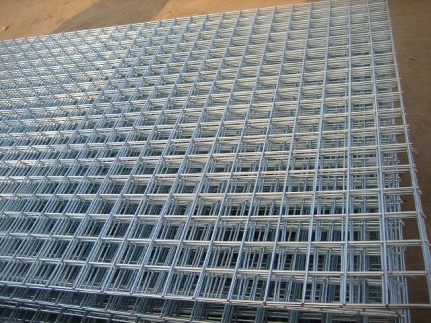 Welded Wire Mesh Panel 6ft x 3ft (1.8x0.9m), 2\