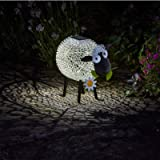 Smart Garden Solar Dolly The Sheep Silhouette Light Garden Light Figure Ornament