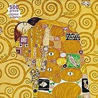 Adult Jigsaw Puzzle Gustav Klimt: Fulfilment (500 pieces): 500-piece Jigsaw Puzzles