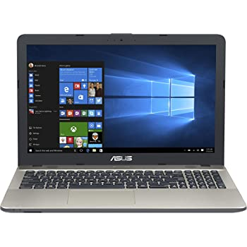"Asus VivoBook Notebook, 15.6"" HD LED, Processore Intel Celeron N3350, RAM 4 GB, Hard Disk 500GB, Windows 10, Argento [Layout Italiano] [Italia]"
