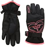 Roxy Damen Girl Poppy - Snowboard/ski Gloves 8-16 Anthracite, L