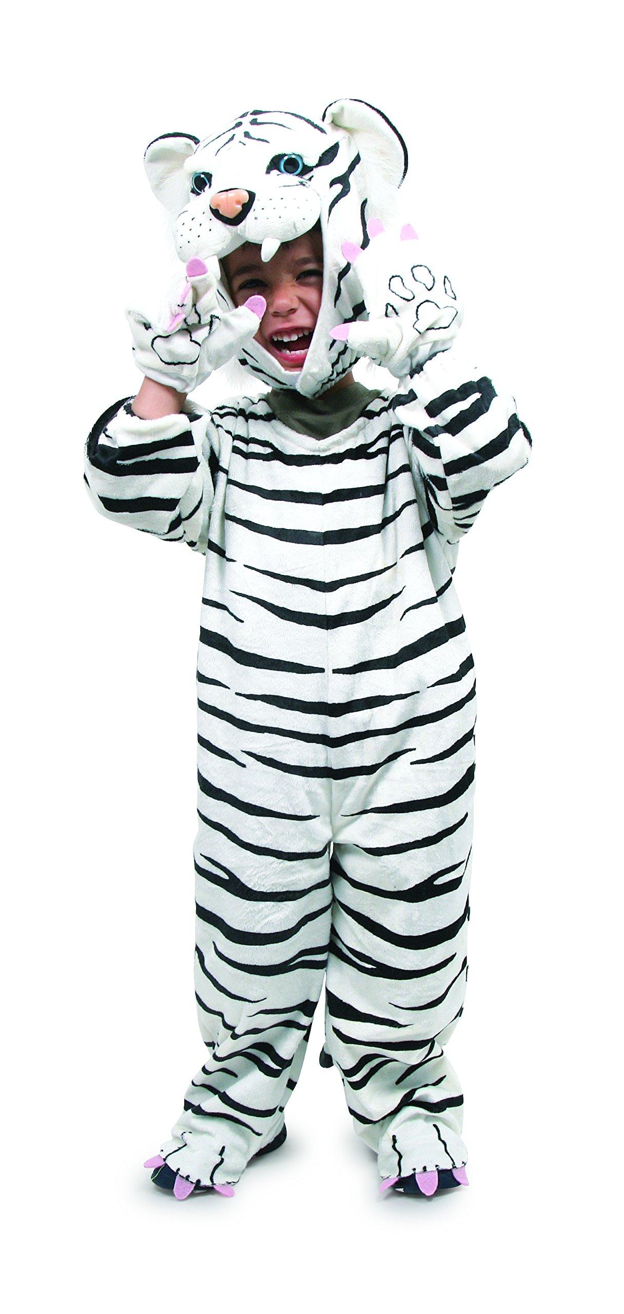 Legler – 2020883 – Disfraces para Niños – Traje – Tigre blanco , Modelos/colores Surtidos, 1 Unidad