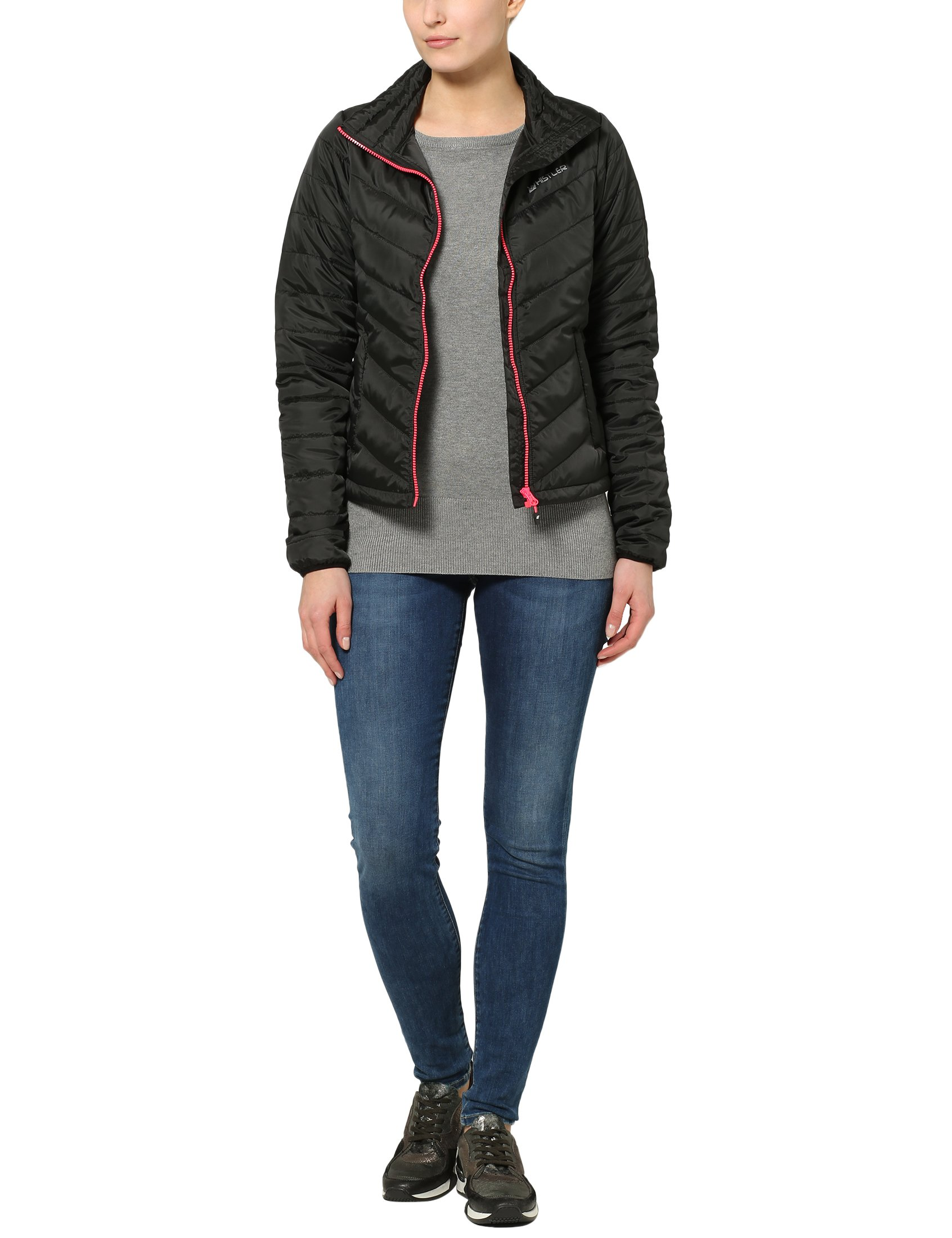 81neW6gly4L - Ultrasport Whistler Women's Quilted Jacket Foggia