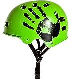 Sport DirectTM BMX-Skate Helm grün 55-58cm CE EN1078:2012+A1:2012