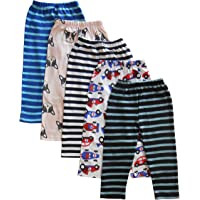 NammaBaby Baby Boy's & Baby Girl's Pajama Pant (Pack of 5)