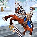 Superhelden Schnee Buggy Pferdetransport