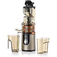Arendo - Slow Juicer/Entsafter | Saftpresse/Kaltpresse | 1l Gesamtkapazität | Schnelle Saftproduktion mit hoher Saftausbeute | Spülmaschinenfestes Zubehör |GS-zertifiziert
