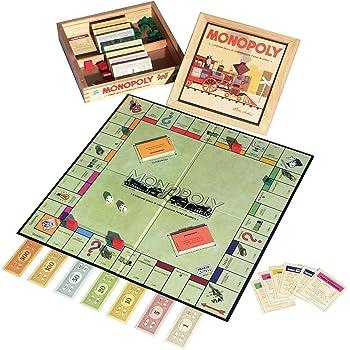 Hasbro Monopoly Nostalgia - Gioco da Tavolo [Scatola in Legno]