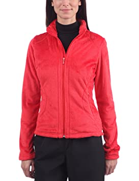 Amazon veste rouge femme