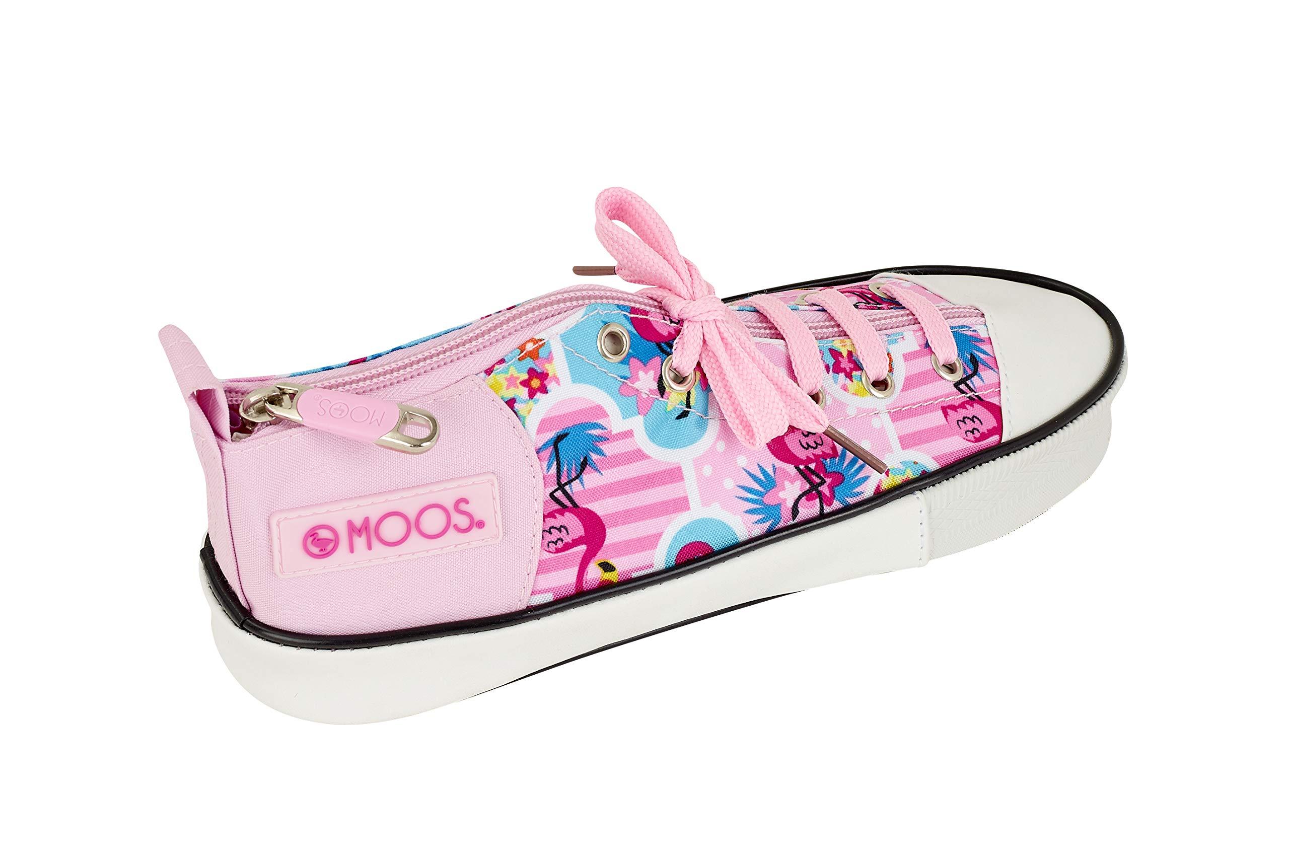 Moos  «Flamingo Pink» Oficial Estuche Zapatilla