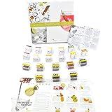 Confezione Luxury Aromi e spezie per Gin Tonic - Partybox con 24 infusioni e 8 estratti Naturali per aromatizzare Cocktail a