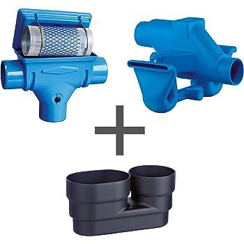 Extrem Regenwasserfilter Zisternenfilter 3P Spar-Set K mit Edelstahlsieb HQ56