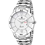 TIMEWEAR Analogue Men's Watch (Silver Colored Strap)
