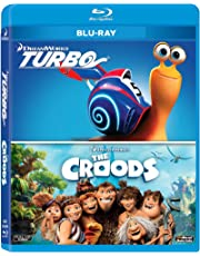 2 Animation Movies Collection: Turbo + The Croods
