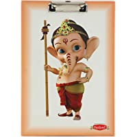 Ganesh Art Ganesh Cartoon Premium Quality Clipboards Exam Pad - Examination Pad - Writing Pad - Clipboard - Size 10 x 14