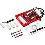 Werkzeyt Renovierungs-Set 17-teilig - Umfangreiche Werkzeuge & Hilfsmittel zum Renovieren & Streichen - Mit Farbwalzen…