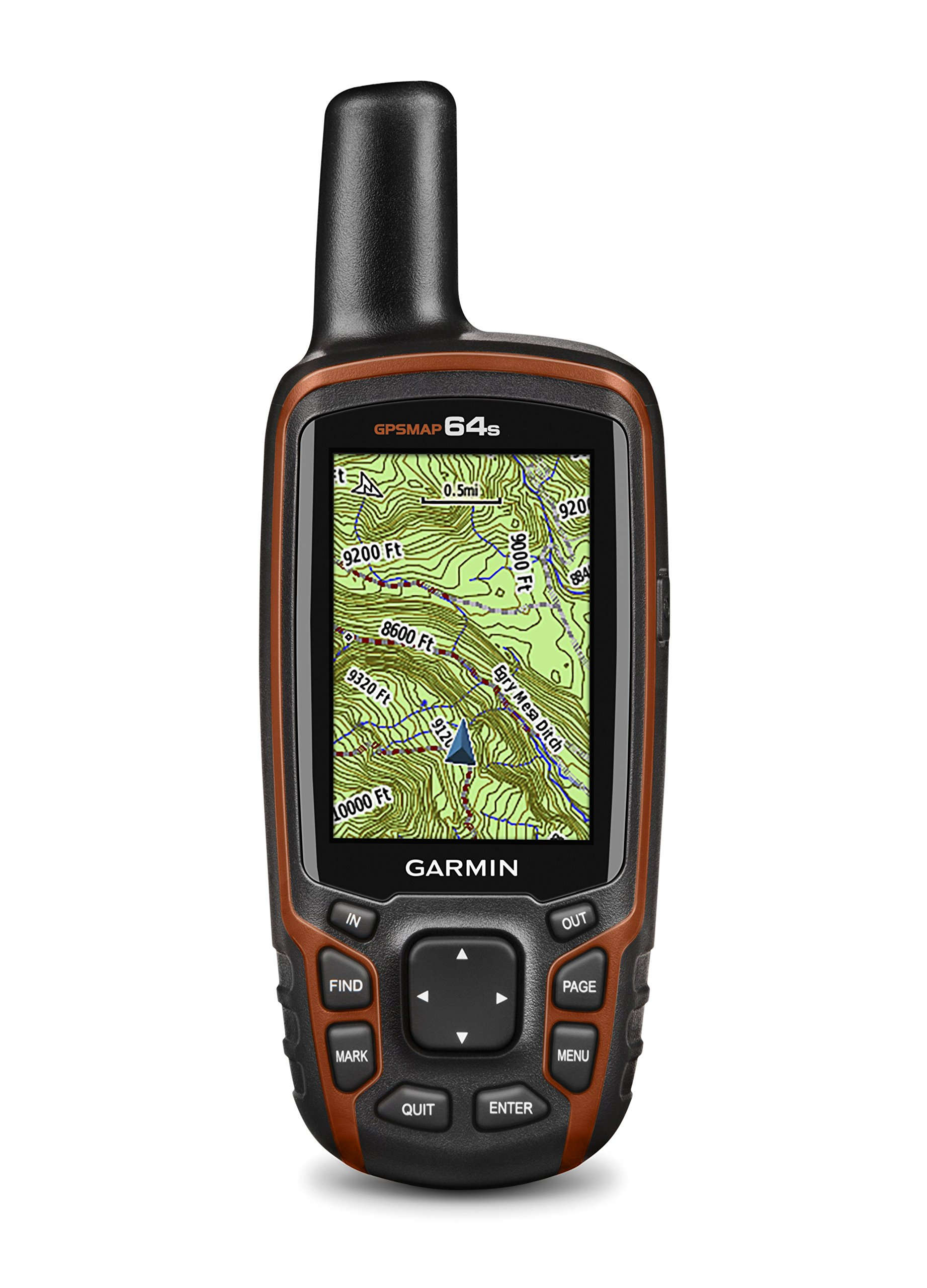 Garmin GPSMAP 64s Handheld Navigator,Black/Red 1