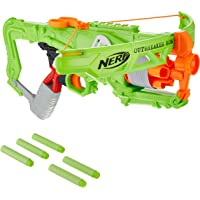 Nerf Zombie Strike Outbreaker Bow -- Real Crossbow Action -- 5-Dart Rotating Drum -- Includes 5 Official Nerf Zombie…