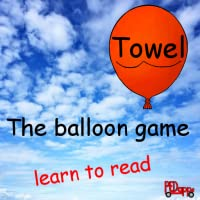The balloon game - learn to read