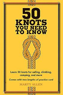 Pro-Knot Boating noeuds Pocket Guide 20 Essential noeuds Survie Edc Bushcraft