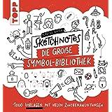 Sketchnotes. Die große Symbol-Bibliothek: 1000 Vorlagen mit vielen Zeichenanleitungen (German Edition)