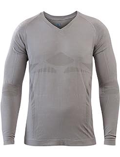 61efe584d25e44 Sleepshirt AVIOR Herren Schlaf-Shirt Langarm Oberteil Seamless – ohne  störende Nähte
