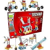 SARTHAM Construction Toys, Mechanical Kit for Kids, Senior Techno (Age 6+)