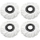 Bajrang Mop Head Refill (white) -4 Pieces