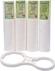 PSI PS-05 Spun Filter for Ro Purifiers with Spanner (White) (Pack of 5)