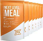 Runtime Next Level Meal Mango - vollwertiger Mahlzeitersatz für langanhaltende Sättigung, Energie, Konzentration und Leistung