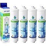 4x AquaHouse AH-UIF filtre à eau externe compatible pour réfrigérateur Samsung LG Daewoo Rangemaster Beko Haier etc Réfrigéra