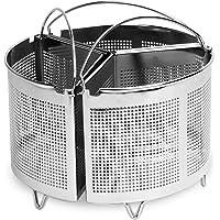 Ensemble de 3 diviseurs de casserole avec poignées | Rangement Économie de batterie de cuisine | Diviseurs en acier…
