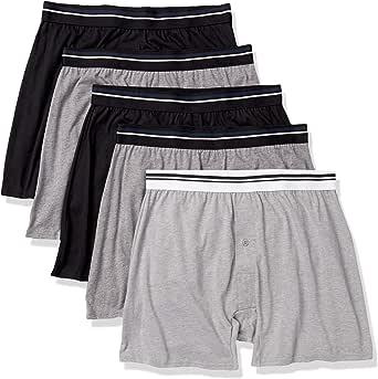 Amazon Essentials Men's 5-Pack Knit Boxer Short