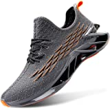 L-RUN Mens Sports Shoes Outdoor Walking Running Sneakers for Athletic Anti-Skid