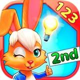 Corsa alla Matematica con il Wonder Bunny: App per la 2° elementare con Numeri, Addizioni e Sottrazioni