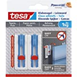 Tesa 77778-00000-00 Adhesive nail for canvas wallpaper and plaster, 1 kg, wit