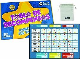 Tabla de Recompensas para Niños - Pizarra Magnética de Estrellas Inspira el Buen Comportamiento - para Pared o...