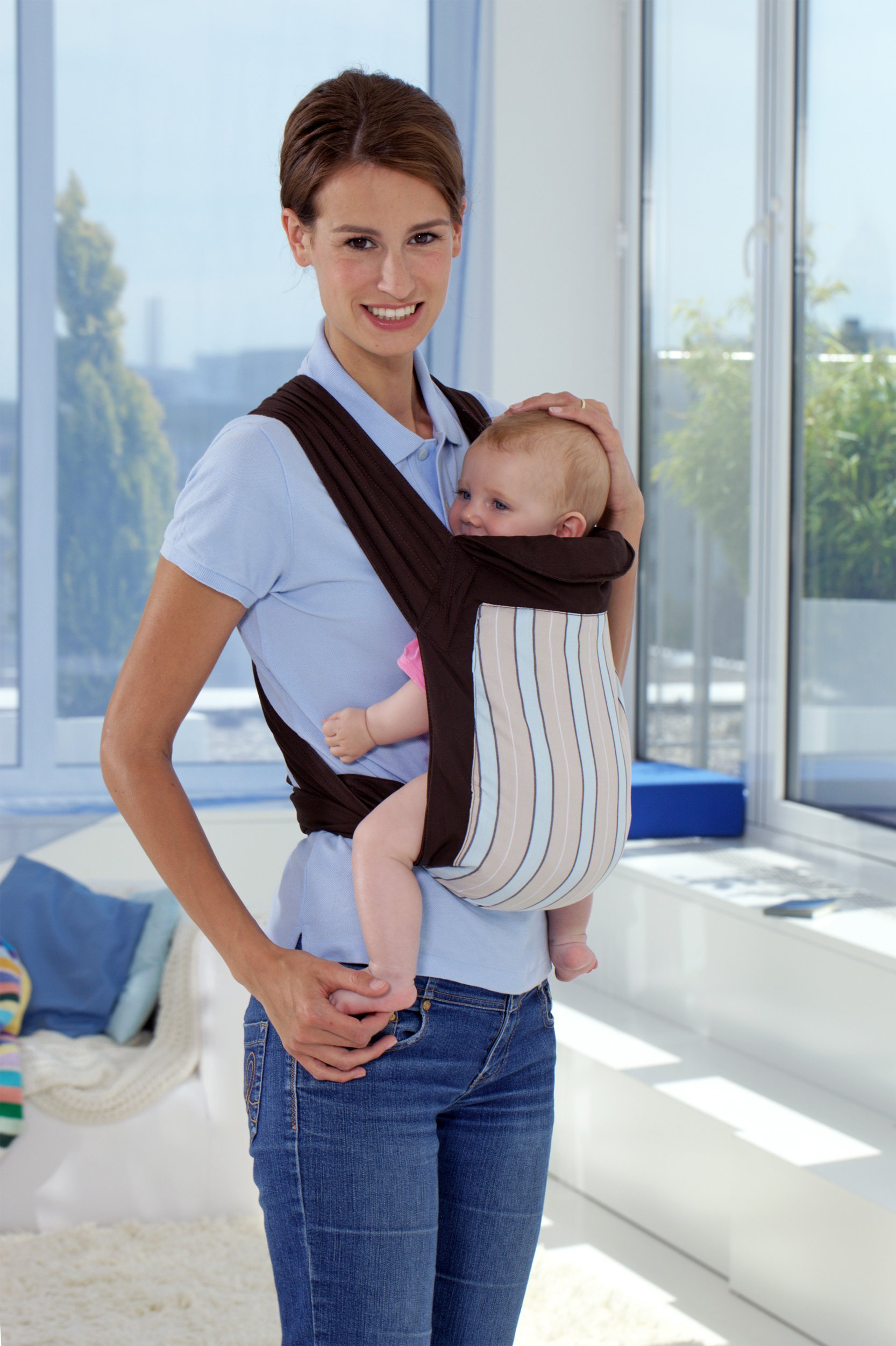 Amazonas Mei Tai Asian Traditional Baby Carrier  Available in 2 designs Carrier can be reversed Easy to put on 9