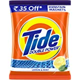Tide Plus Double Power Detergent Washing Powder - 2 kg (Lemon and Mint)