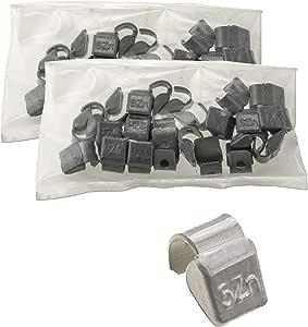 Auswuchtgewichte Schlaggewichte 50 Stück 5g Für Aluminiumflegen Alu Felgen Zinkgewichte Wuchtgewichte Auto