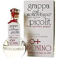 Distillerie Nonino, Grappa Nonino Cru Monovitigno Picolit, imbottigliamento manuale in ampolle soffiate a mano volante…