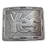 Yes Scotland Saltire Kilt Belt Buckle